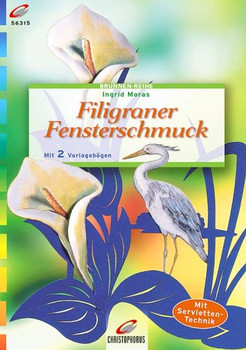 Brunnen-Reihe, Filigraner Fensterschmuck - Ingrid Moras