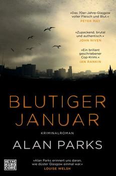 Blutiger Januar. Kriminalroman - Alan Parks  [Taschenbuch]