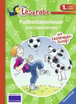 Fußballabenteuer zum Lesenlernen [Gebundene Ausgabe]