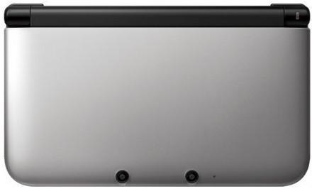 Nintendo 3DS XL argento nero