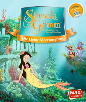 SimsalaGrimm. Die kleine Meerjungfrau - Sonja Fiedler-Tresp  [Taschenbuch]