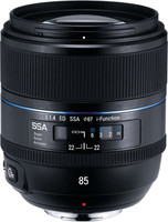 Samsung NX 85 mm F1.4 ED SSA 67 mm Objetivo (Montura Samsung NX) negro