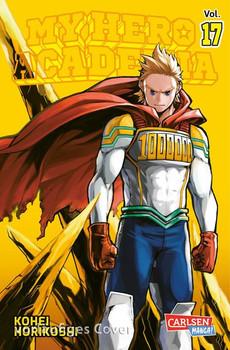 My Hero Academia 17. Die erste Auflage immer mit Glow-in-the-Dark-Effekt auf dem Cover! Yeah! - Kohei Horikoshi  [Taschenbuch]