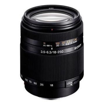 Sony 18-250 mm F3.5-6.3 DT 62 mm Objectif (adapté à Sony A-mount) noir
