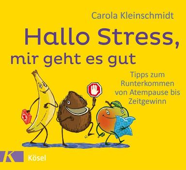 Hallo Stress, mir geht es gut. Tipps zum Runterkommen von Atempause bis Zeitgewinn - Carola Kleinschmidt  [Gebundene Ausgabe]