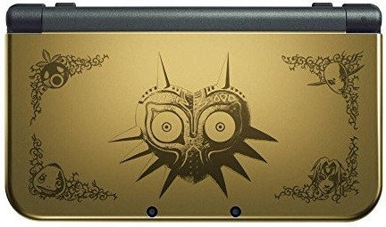 New Nintendo 3DS XL [Legend of Zelda: Majora's Mask Edition, sin juego] oro