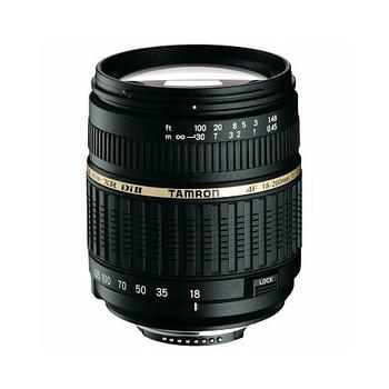 Tamron AF 18-200 mm F3.5-6.3 ASL Di IF LD XR II Macro 62 mm Objetivo (Montura Nikon F) negro