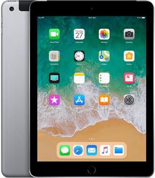 "Apple iPad 9,7"" 128GB [wifi + cellular, model 2018] spacegrijs"