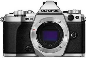 Olympus OM-D E-M5 Mark II Cuerpo plata