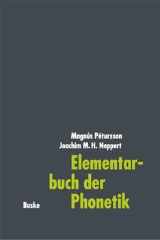 Elementarbuch der Phonetik - Magnus Petursson