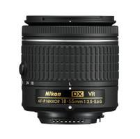 Nikon AF-P DX NIKKOR 18-55mm F3.5-5.6 G VR 55 mm Objectif (adapté à Nikon F) noir