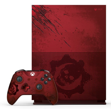 microsoft xbox one s 2tb gears of war edition inkl. Black Bedroom Furniture Sets. Home Design Ideas