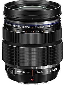 Olympus M.Zuiko Pro 12-40 mm F2.8 ED 62 mm Objectif (adapté à Micro Four Thirds) noir