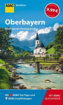 ADAC Reiseführer Oberbayern - Martin Fraas  [Taschenbuch]