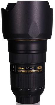 Nikon AF-S NIKKOR 24-70 mm F2.8 ED G IF 77 mm filter (geschikt voor Nikon F) zwart
