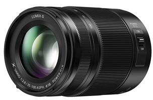 Panasonic Lumix G X VARIO 35-100 mm F2.8 ASPH. POWER O.I.S. II  58 mm Objectif (adapté à Micro Four Thirds) noir