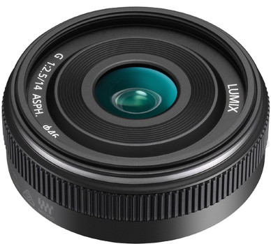 Panasonic Lumix G 14 mm F2.5 ASPH. II 46 mm Objetivo (Montura Micro Four Thirds)negro