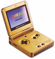 Game Boy Advance SP Oro [Zelda Edition]