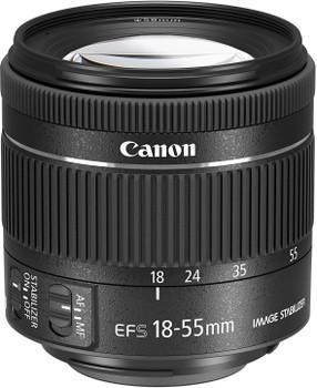 Canon EF-S 18-55 mm F4.0-5.6 IS STM 58 mm Objectif (adapté à Canon EF-S) noir