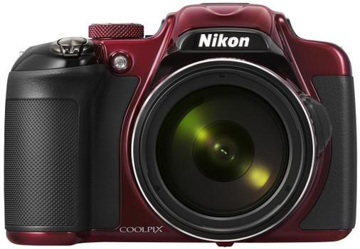 Nikon COOLPIX P600 rood