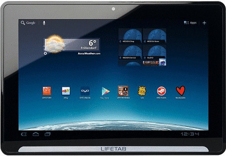 "Medion LifeTab P9514 10"" 32GB [wifi + 3G] zwart"