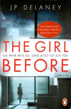 The Girl Before - JP Delaney [Taschenbuch]