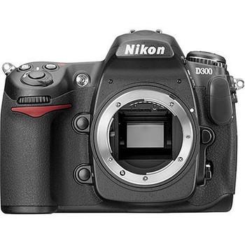 Nikon D300 zwart