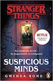 Stranger Things: Roman Nr. 1 - DIE OFFIZIELLE DEUTSCHE AUSGABE - Gwenda Bond  [Taschenbuch]