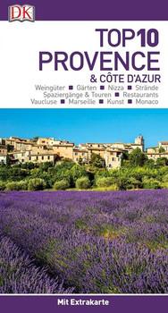 Top 10 Provence & Côte d'Azur. mit Extrakarte und kulinarischem Sprachführer zum Herausnehmen [Taschenbuch]