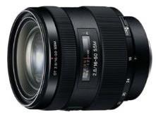 Sony 16-50 mm F2.8 SSM 72 mm Objectif (adapté à Sony A-mount) noir
