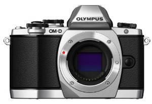 Olympus OM-D E-M10 zilver