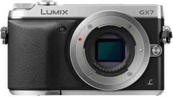 Panasonic Lumix DMC-GX7 body zilver