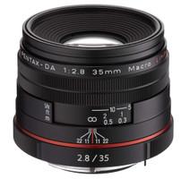 Pentax HD DA 35 mm F2.8 Macro 49 mm Obiettivo (compatible con Pentax K) nero [Edizione limitata]
