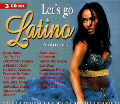Various - Let'S Go Latino Vol.1 3-CD