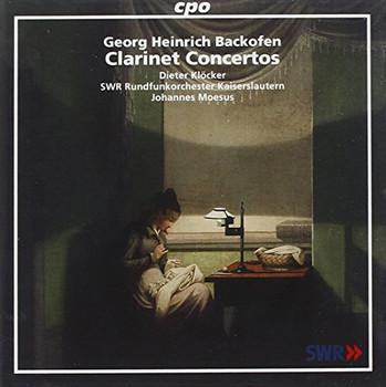 Dieter Kloecker - Backofen:Clarinet Concertos