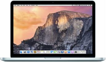 """Apple MacBook Pro 13.3"""" (Retina) 2.9 GHz Intel Core i5 8 Go RAM 512 Go PCIe SSD [Début 2015, clavier anglais, QWERTY]"""