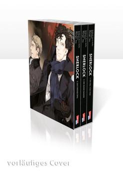 Sherlock 1-3 mit Schuber. Das große Spiel - Jay.  [Taschenbuch]