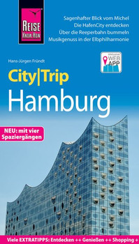 Reise Know-How CityTrip Hamburg. Reiseführer mit Stadtplan, 4 Spaziergängen und kostenloser Web-App - Hans-Jürgen Fründt  [Taschenbuch]