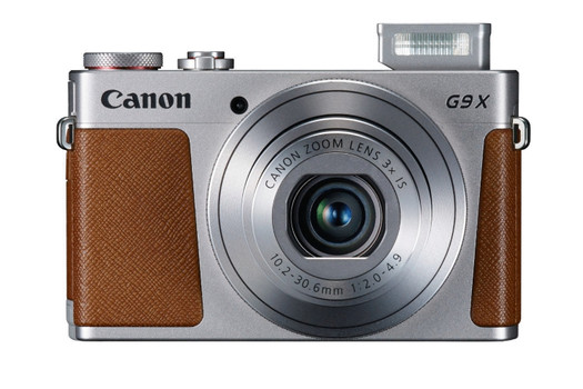Canon PowerShot G9 X plata