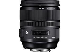 Sigma A 24-70 mm F2.8 DG HSM OS 82 mm filter (geschikt voor Nikon F) zwart