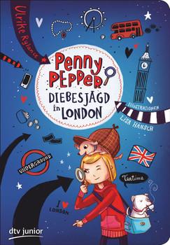 Penny Pepper - Diebesjagd in London - Ulrike Rylance  [Taschenbuch]