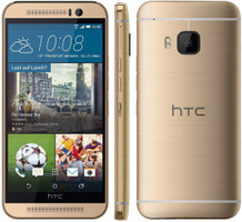 HTC One M9 32GB goud op goud