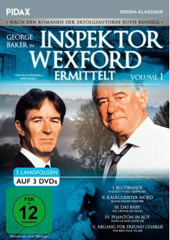 Inspektor Wexford ermittelt - Vol. 1 [3 Discs]