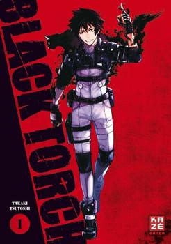 Black Torch 01 - Takaki Tsuyoshi  [Taschenbuch]
