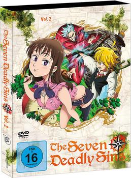 The Seven Deadly Sins Vol.2 [2 DVDs]