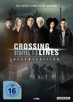 Crossing Lines - Staffel 1-3 Gesamtedition [11 DVDs]
