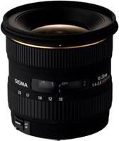 Sigma 10-20 mm F4.0-5.6 DC EX 77 mm filter (geschikt voor Sony A-mount) zwart