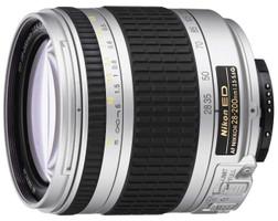 Nikon AF NIKKOR 28-200 mm F3.5-5.6 ED G IF 62 mm Objetivo (Montura Nikon F) plata