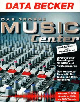 Das grosse Music Center  2 CD- ROMs für Windows 95/98 - Dirk Weippert
