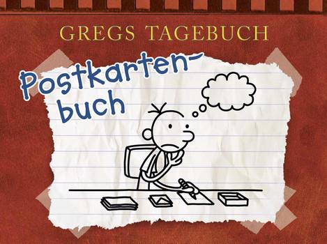 Gregs Tagebuch - Postkartenbuch - Kinney, Jeff